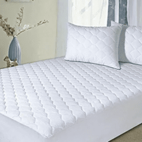 NEW QUILTED MATRESS PROTECTOR FITTED BED COVER:ALL SIZES